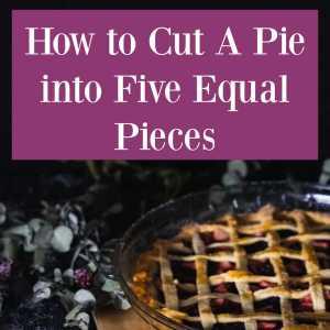 a nice pie