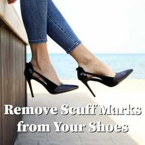 scuff marks on shoes