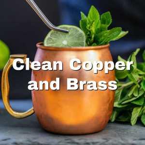 brass mug
