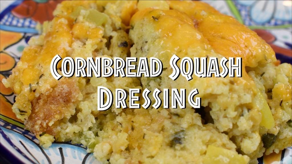 cornbread squash dressing