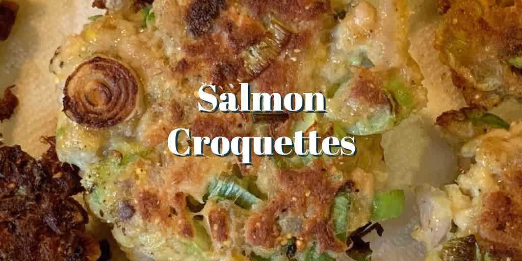 salmon croquette