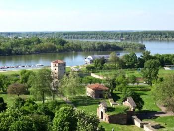 Vue de Belgrade