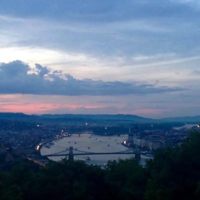 Budapest sunset