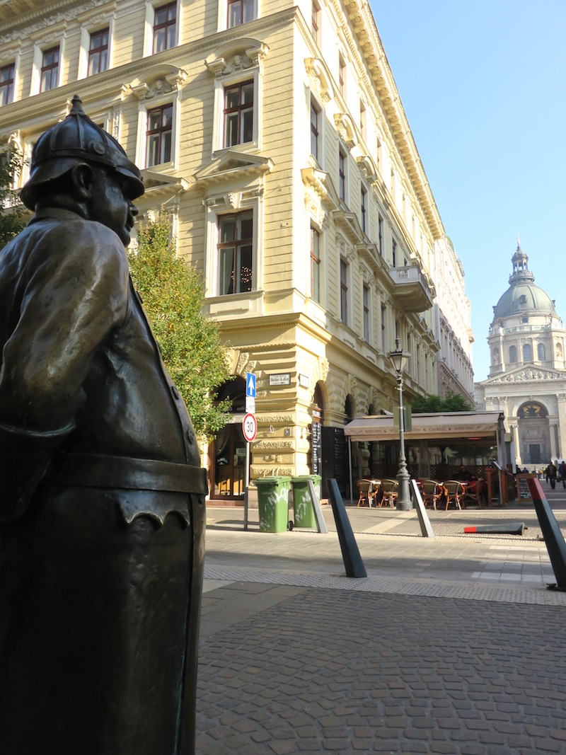 Statues Budapest