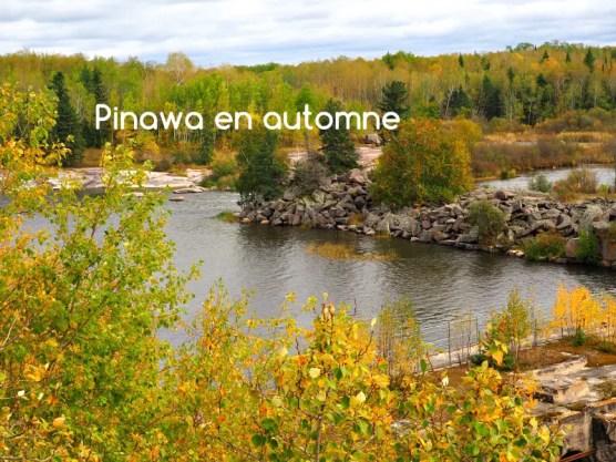 Pinawa en automne