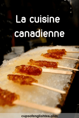La cuisine canadienne