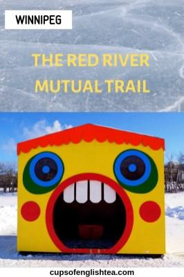 Red River Mutual Trail Winnipeg Warming huts