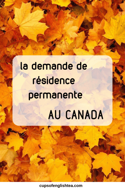 Demander la Résidence permanente au Canada