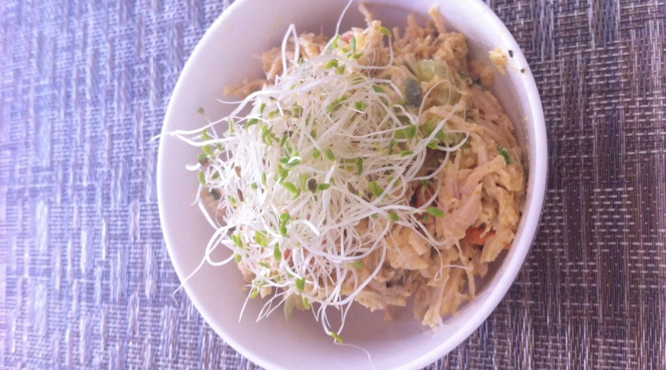 Crunchy Curry Chicken Salad recipe