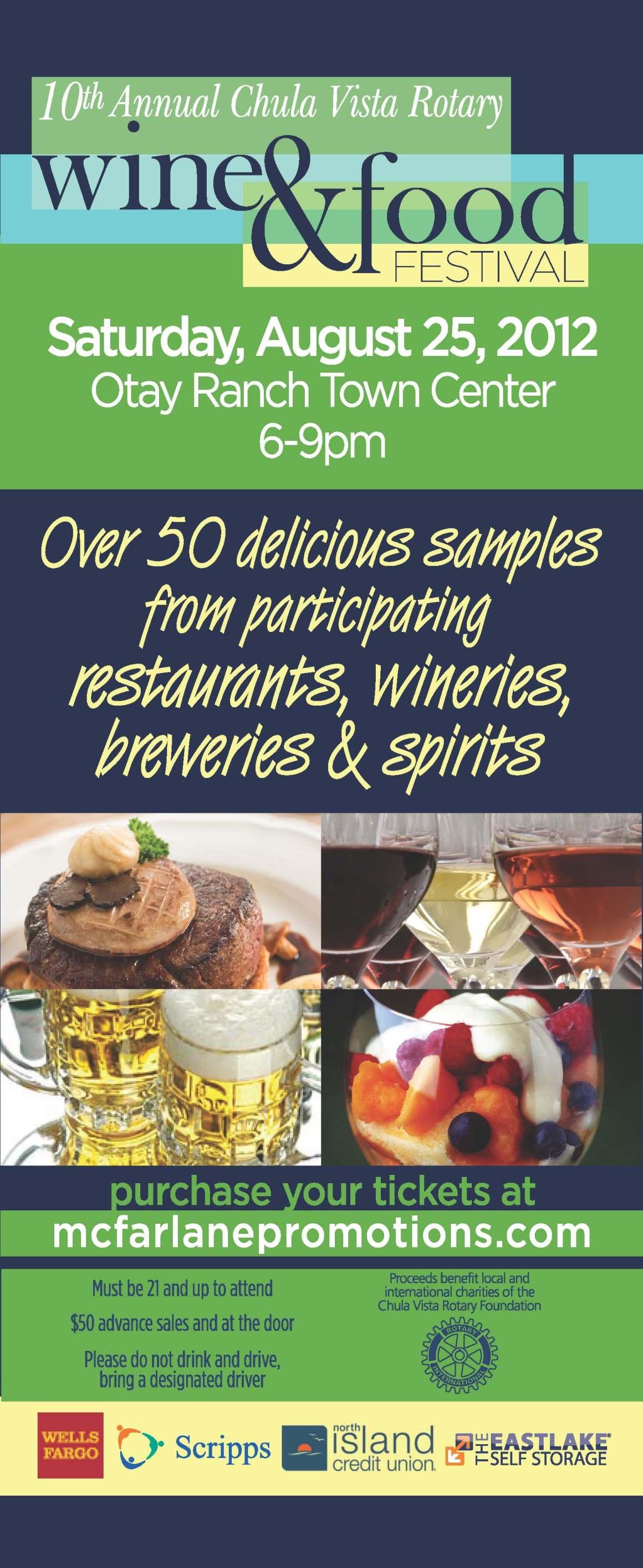 10th Annual Wine & Food Festival