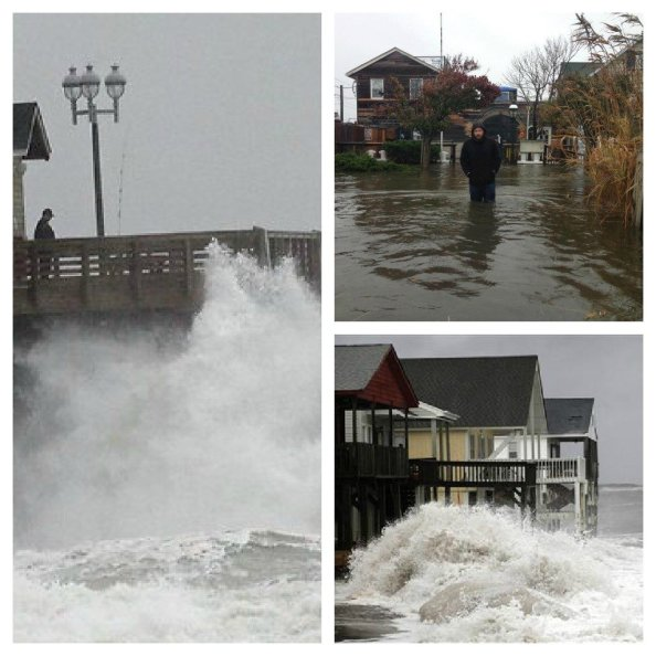 Hurricane Sandy Collage