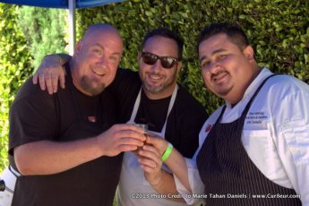 Hanis Cavin ( Carnitas Snack Shack) Matt Gordon (Urban Solace) Alex Carballo (Stone Brewery) image