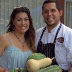 Marie Daniels (Cur8eur Editor) Chef Miguel Valdez ( Red Door Restaurant) image