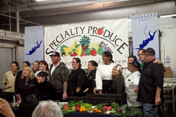 volunteers, chefs, cooking, recipes, San Diego Food, LIfestyle