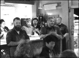 Chef Chad White, Chef Ricardo Heredia