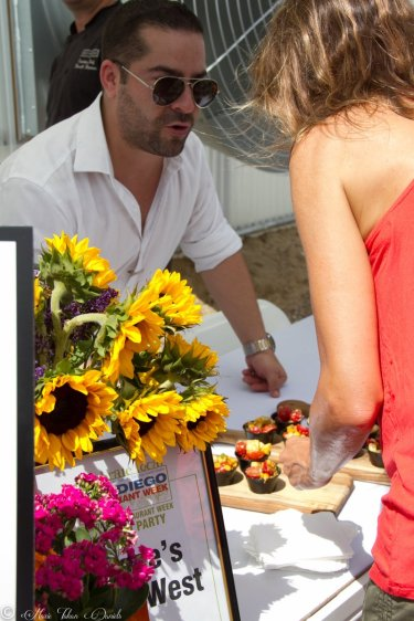 San Diego Restaurant Week Launch Party 2015, Encinitas CA at Go Green Agriculture