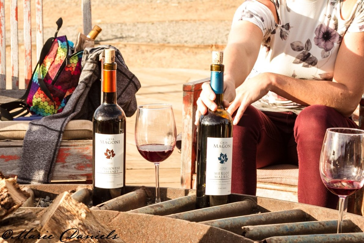 Casa Magoni Wines in Valle de Guadalupe, Finca Altozano, Chef Javier Plascencia