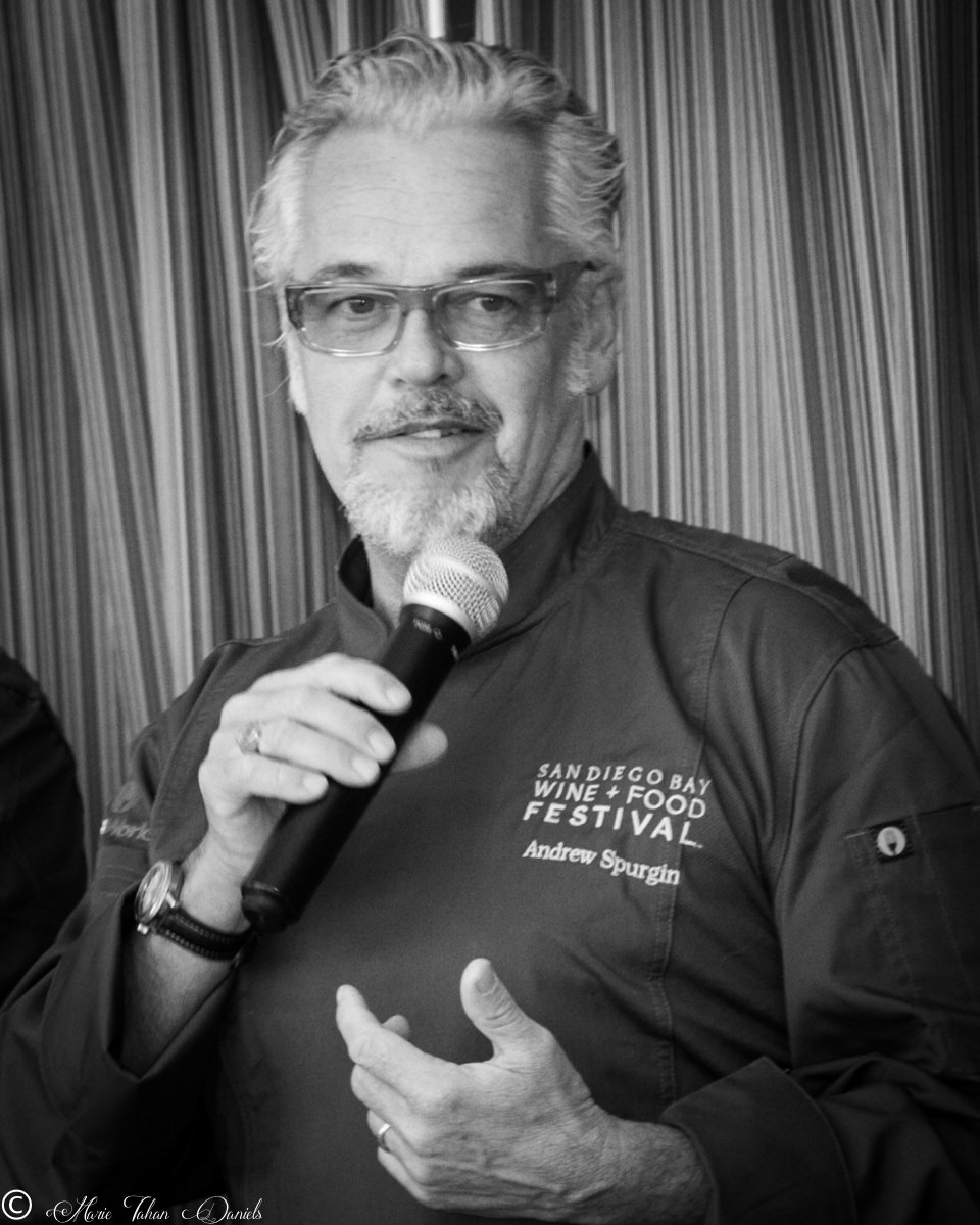 Andrew Spurgin, event architect and seafood advocate