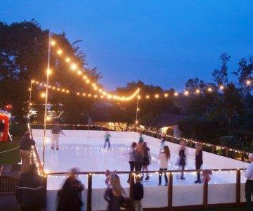 the inn at rancho santa fe ice skating rink