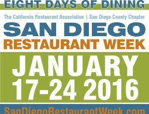 San Diego Restaurant week 2016