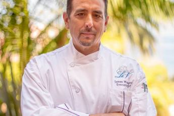 Chef James Montejano, La Valencia
