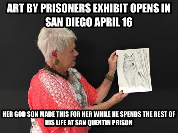 Prison Art Example - Alexander Salazar