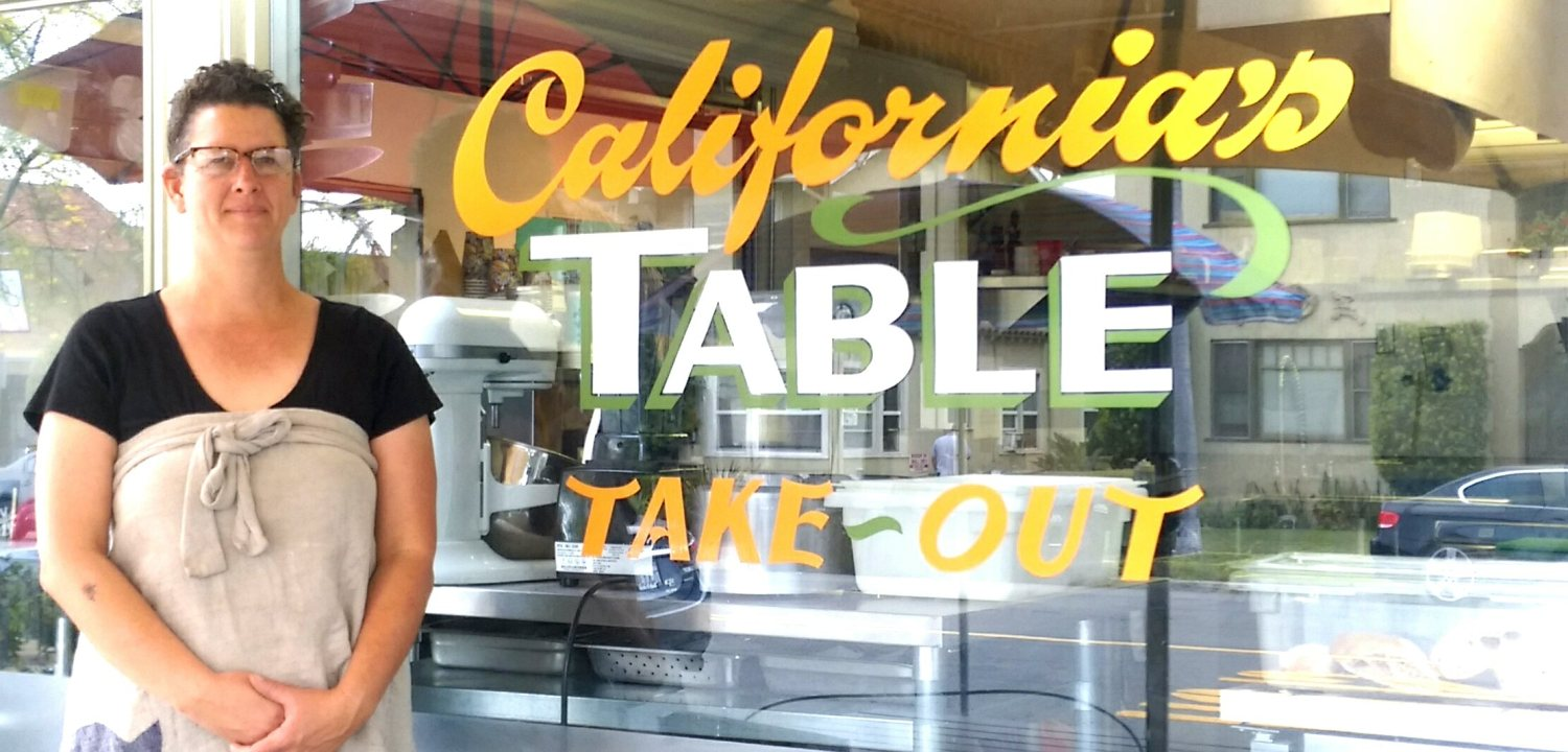 Chef Marguerite Grifka, California Tables, North Park, San Diego, vegetarian food, Food from scratch