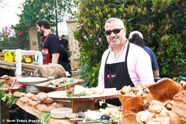 Vince Bayard, food lover