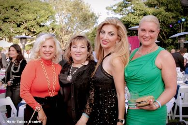 Gala Chairs May Zawaideh & Abeer Hage with Friends