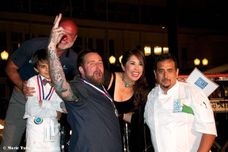 Chef Rob Ruiz Wins the Caja China, Chef Throwdown, Cystic Fibrosis