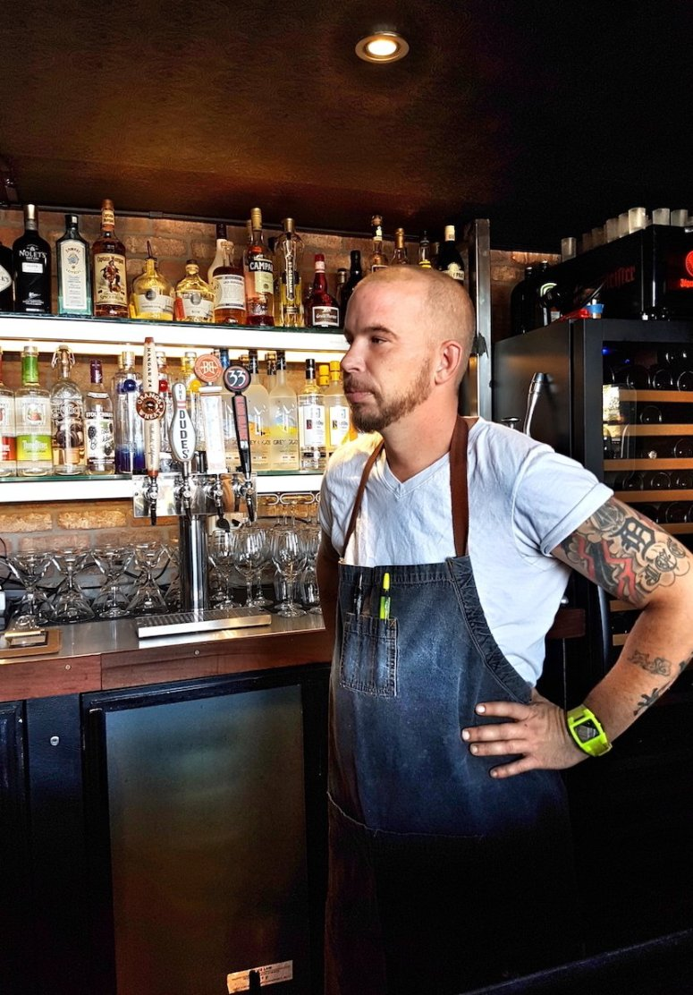 Chef Daniel Barron, Bull and Grain, San Diego, Hillcrest,