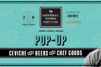 Chef Chad White Pop Up at The general Store in North Park