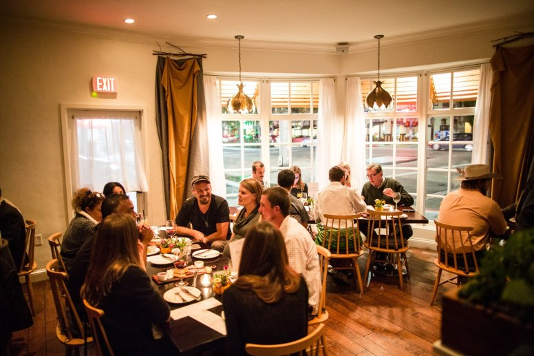 Dining Out, San Diego, The Red Door restaurant, Mission Hills