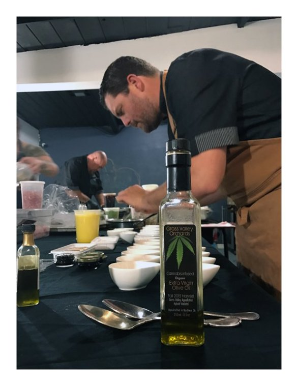 marijuana dinner, closed door supper club, san diego, cannabis, cannaoil, colin murray