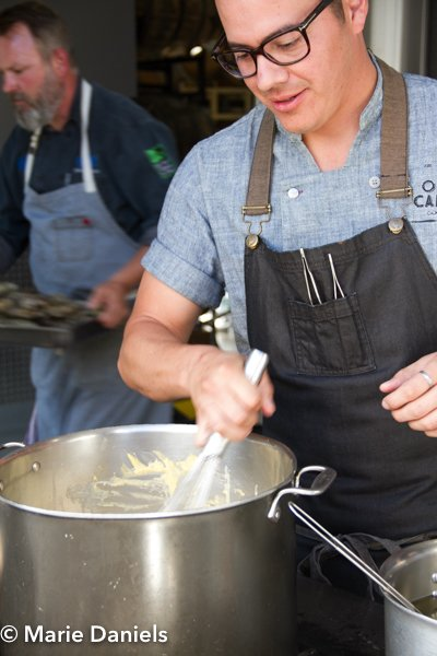 Ruffo Ibarra, baja chefs, baja chef network, bitter brothers brewing, san diego, charity event, feeding san diego