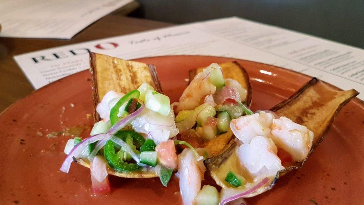 Shrimp Ceviche, RED O, Mexican restaurant, Rick Bayless, La Jolla