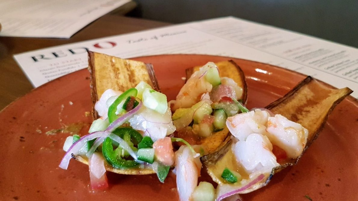 Shrimp Ceviche, RED O, Mexican restaurant, Rick Bayless, La Jolla