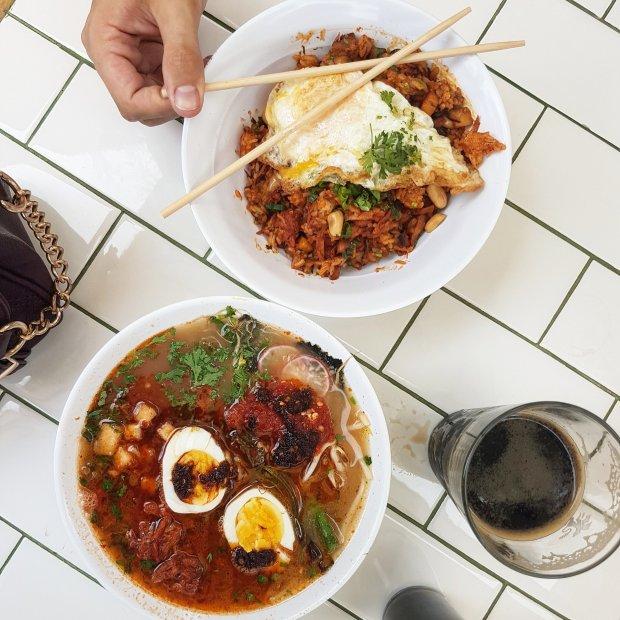 Kimchi Fried Rice at Don Ramen in Tijuana's Telefonica GastroPark