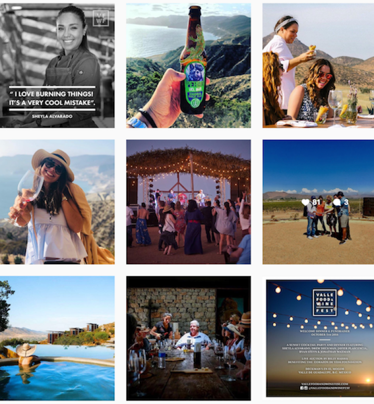Valle Food and Wine Festival, Valle de guadalupe, cur8eur