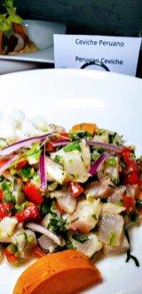 Peruvian Ceviche, Viaje Oyster Bar