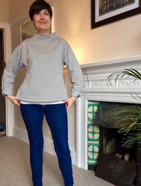 Named Talvikki grey sweatshirt