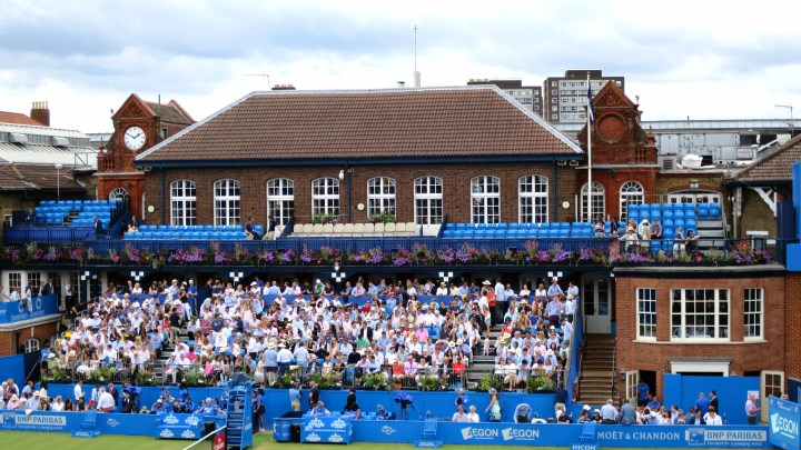 The Member's Area in The Queen's Club
