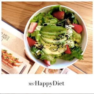 Avocado & Strawberry Salad