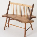 Windsor Wooden Bench Handmade Akimbo Style  $2,698