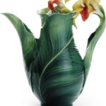 Most Beautiful Teapot – Garden Lily Leaf By Franz Collection   $228