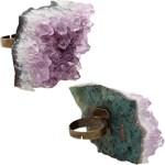 Astraleye Crystal Jewelry Amethyst Ring  $85
