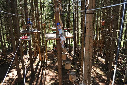 Tree Camping in Germany at Waldseilgarten