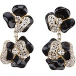 Timeless Flower Design Vintage Valentino Earrings  $535