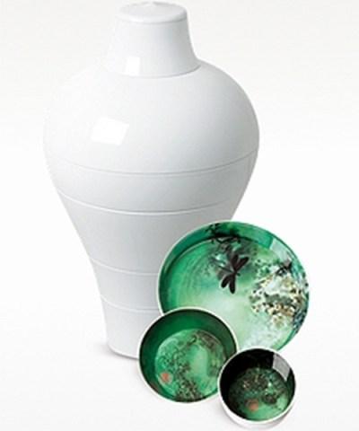IBRIDE Ming Vase Stackable Bowls Modern Dining Set