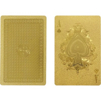 Unique Gold Playing Cards IDEA International